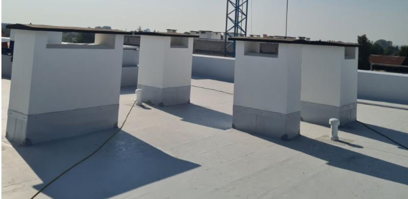 Izolacja dachów płaskich