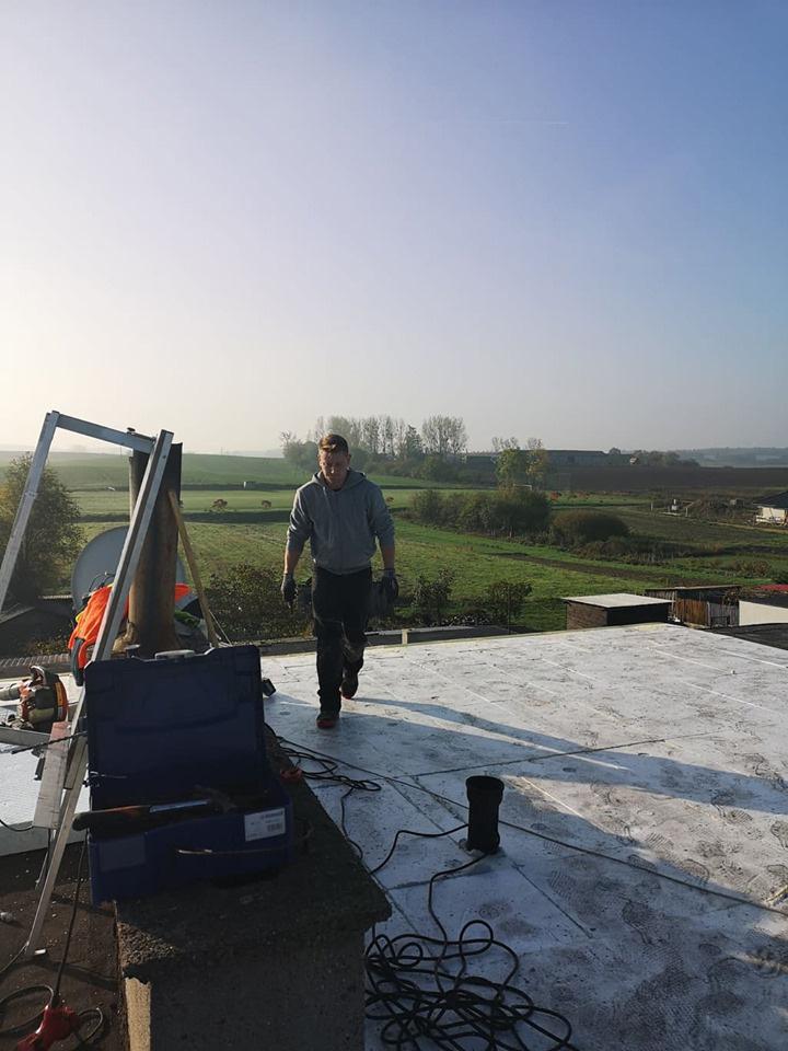 dach płaski izolacja