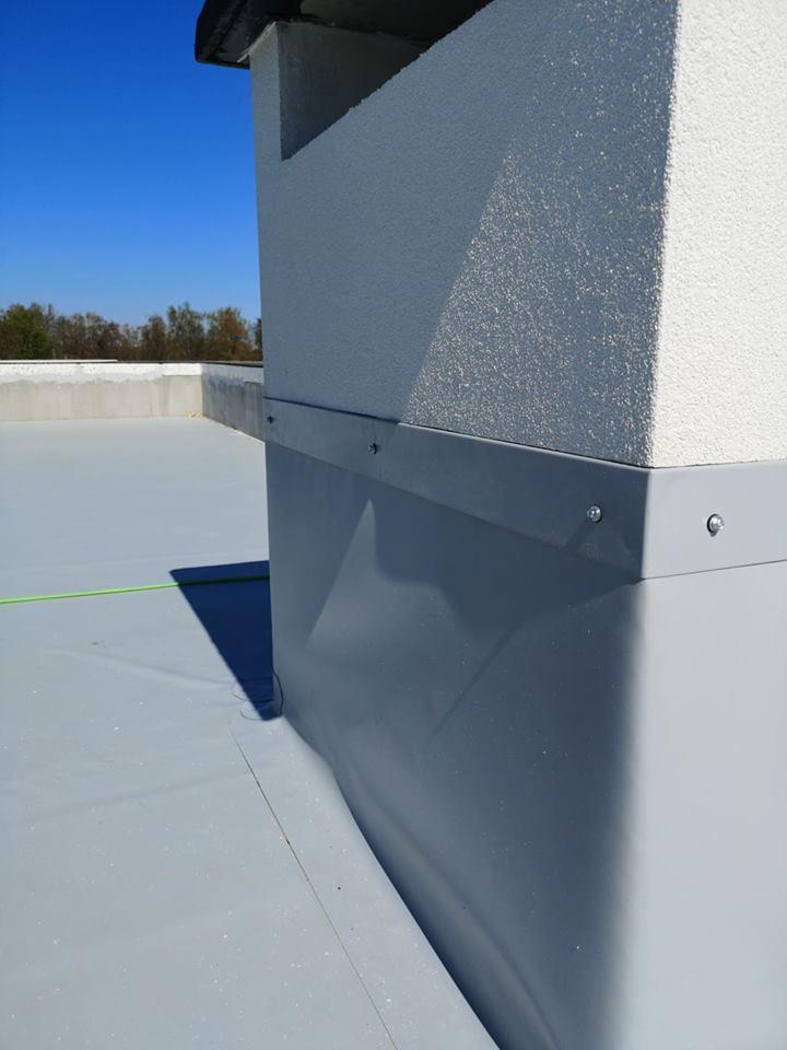 metody izolacji dachu płaskiego