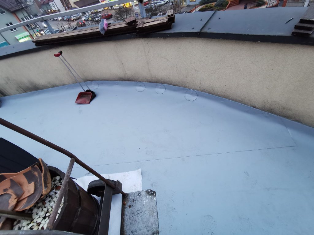 metody izolacji dachu płaskiego i tarasu
