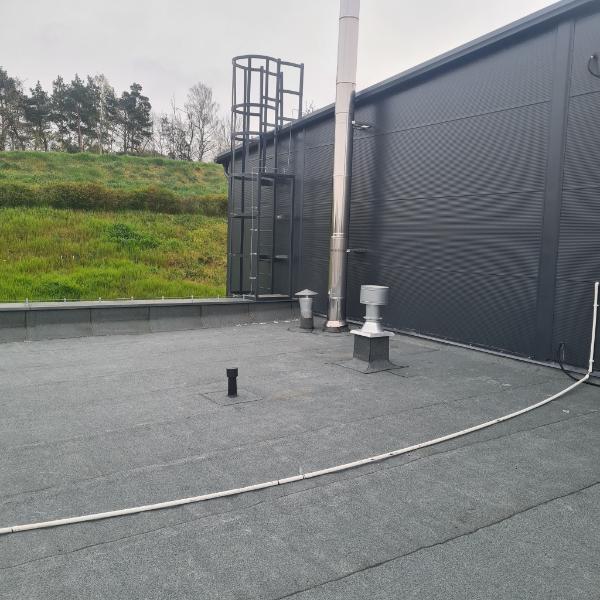 renowacja płaskiego dachu